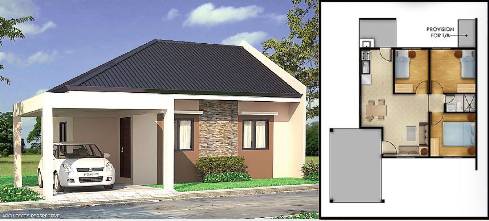 Onyx House model a modern contemporary filipino house design