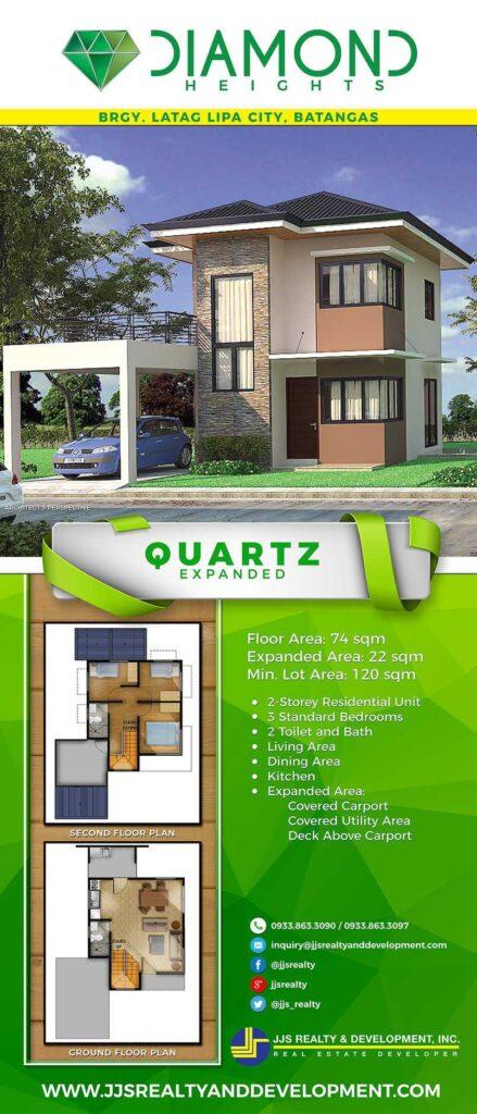 Quartz Expanded house model